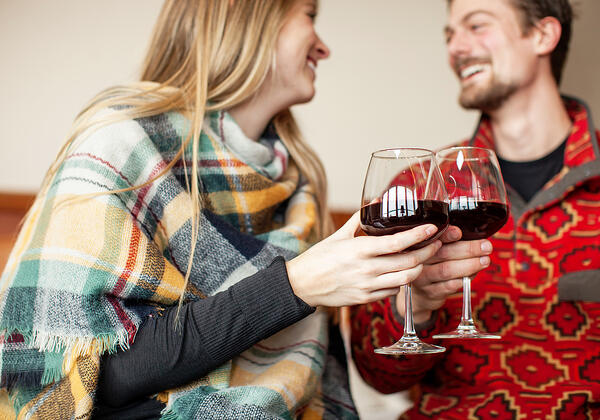 Couple drinking wine - by Al & Lyndsey - VCC UL - web (26)
