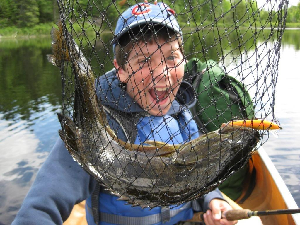 Hungry Jack Outfitters - fish in a net