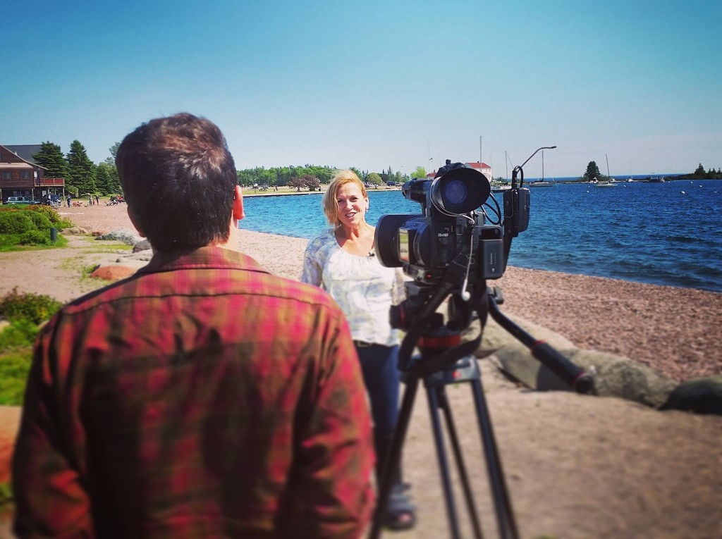 KQDS Fox 21 Duluth visits with Linda Kratt about 4th of July