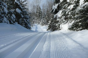 Groomed Central Gunflint Trail