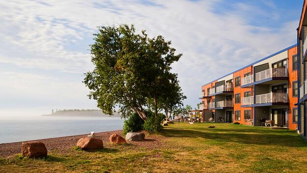 East Bay Grand Marais, MN Cook County lodging on Lake Superior