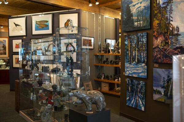 Shopping - Sivertson Gallery in Grand Marais MN  - credit - Wander The Map (2)