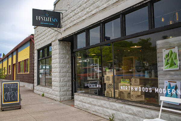 Shopping - Upstate Mn in Grand Marais  - credit - Wander The Map